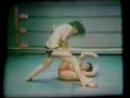 Rare Silent Vintage Bikini Female Wrestling