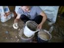 Auto Gangster Как сделать печку для плавки алюминия- DIY Плавит банки от кока кола