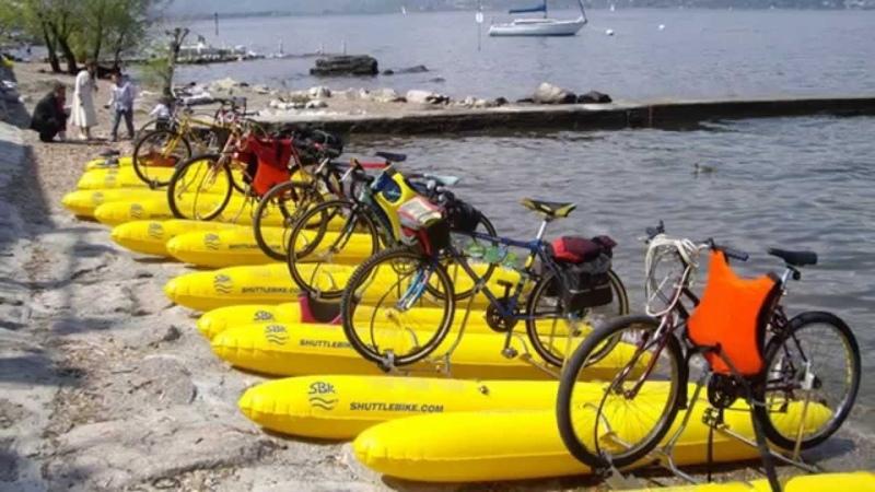 Бизнес идея из Италии катамаран на основе велосипеда