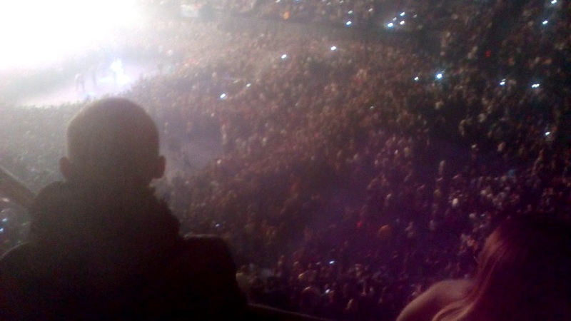 Дичайший слэм на концерте Макса Коржа в Минске