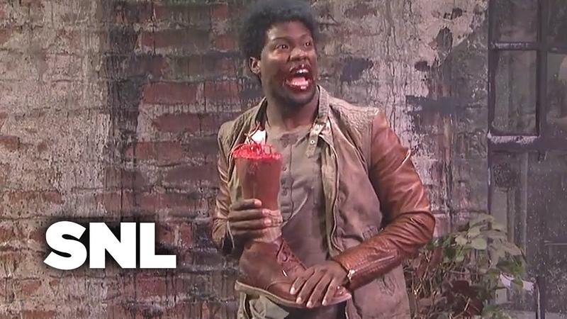 The Walking Dead: Black or Zombie? - SNL