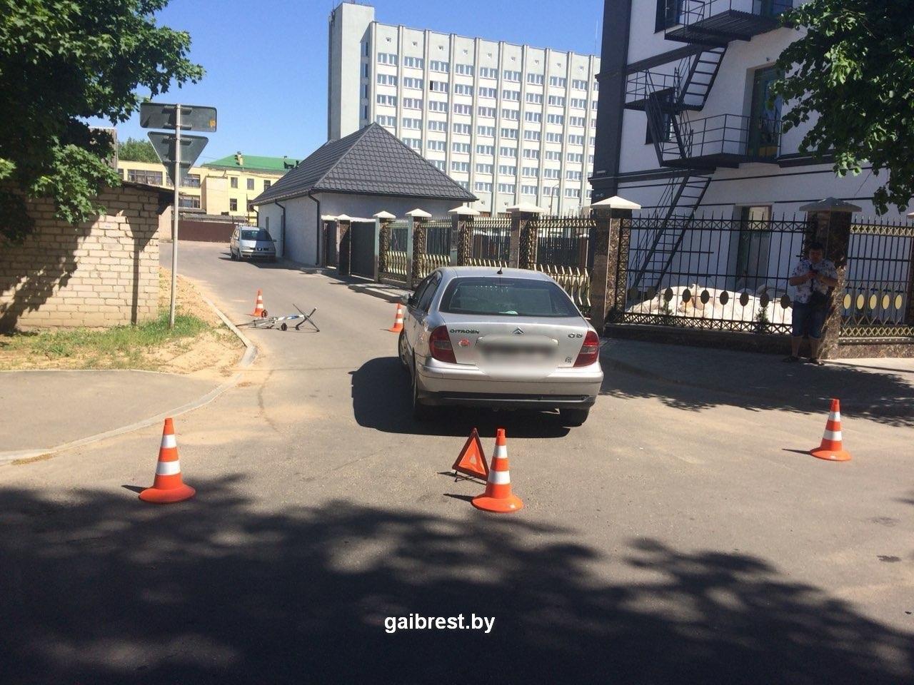 В Барановичах в результате наезда пострадала женщина