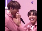 remember when jungkook accidentally hit his teeth with the microphone and hoseok had the cutest reaction