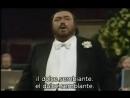 Luciano Pavarotti - È la solita storia de L'Arlesiana de Cilea (subtítulos español e italiano)