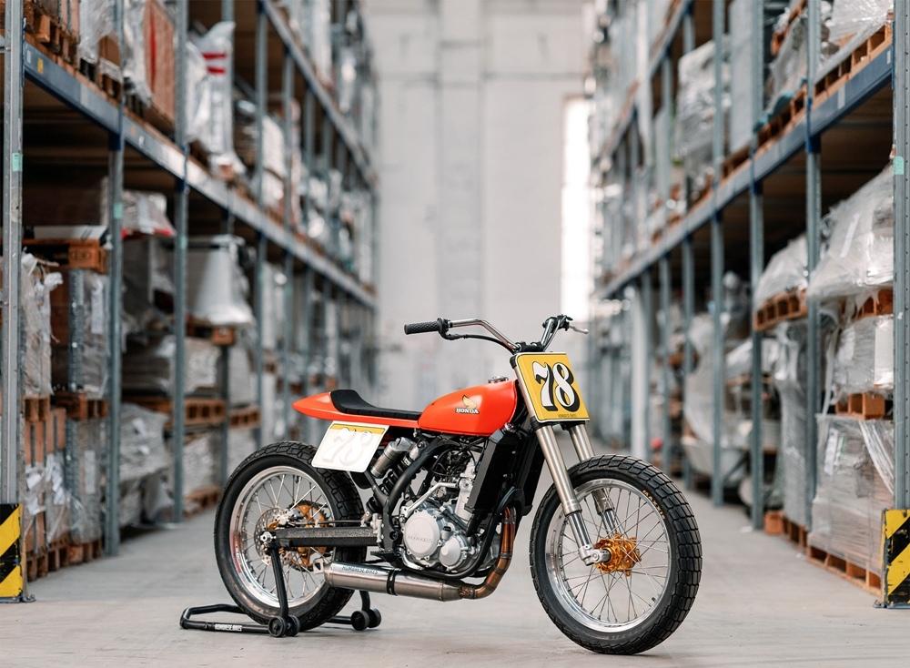 Hombrese Bikes: флэт-трекер KTM 450 SX