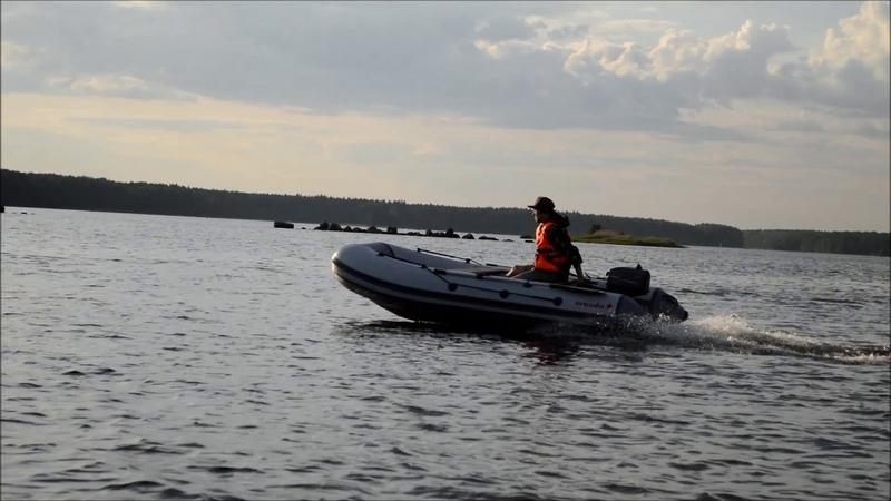 Лодка пвх Zvezda-360-НДНД мотор Sailor 5.0 двухтактный
