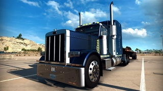 Very Huge Truck Kenworth W900 in American Truck Simulator Game on PC