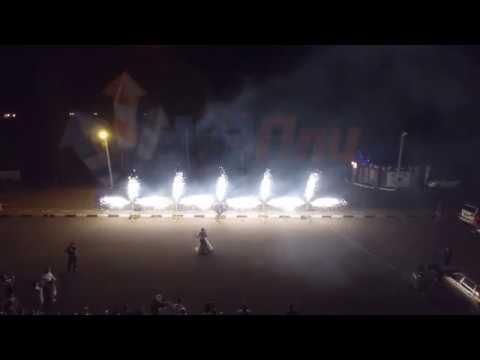 Квадрокоптер свадьба пиротехническое шоу 123Пли Annam Brahma