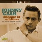 Johnny Cash альбом Change of Address (Singles As & Bs 1958-62)
