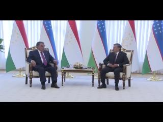Приезд Президент Таджикистана Эмомалӣ Раҳмон в Ташкент (no comment)