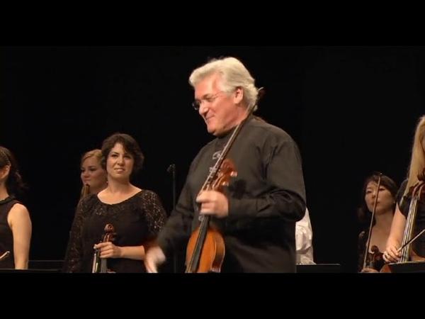 Pinchas Zukerman Verbier Festival Chamber Orchestra Hindemith Vivaldi Mozart Schubert