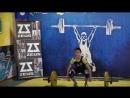 Обласні змагання з важкої атлетики! Поштовх - 54 кг !