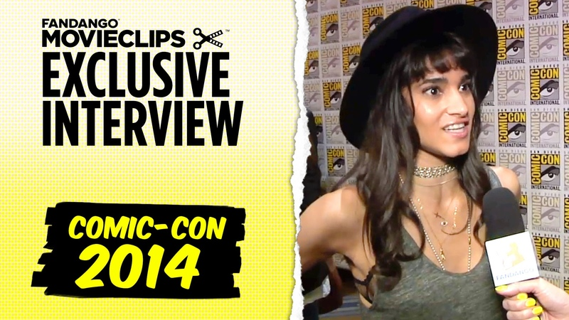 Sofia Boutella 'Kingsman: The Secret Service' Exclusive Interview: Comic-Con (2014) HD