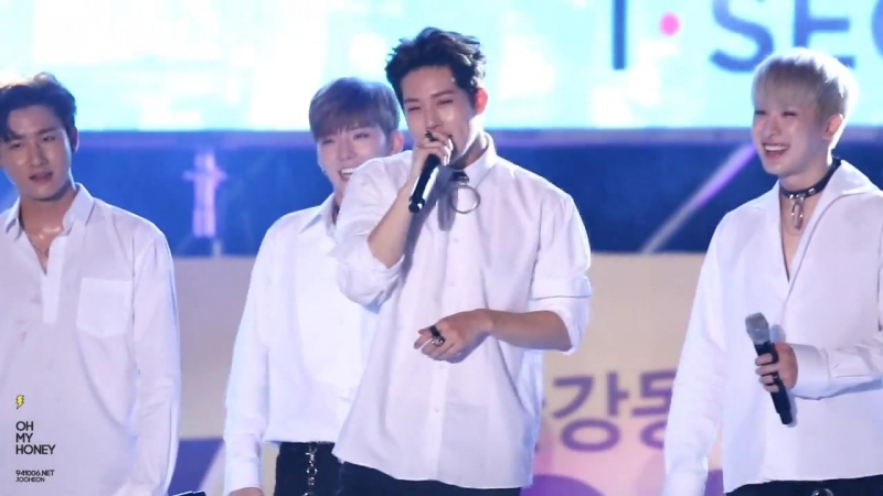 [VK][160819] MONSTA X fancam Talk Time @ K-Pop Wave Festival