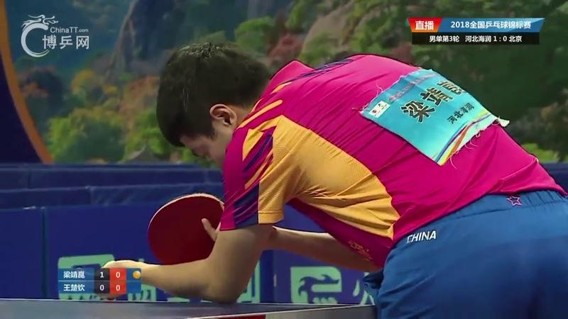 Wang Chuqin vs Liang Jingkun | China National Championships 2018
