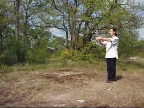 Old version Fast Wing Chun - Baat Jaam Do, Ip Man, Wang Kiu 八斬刀 詠春 葉問 王喬
