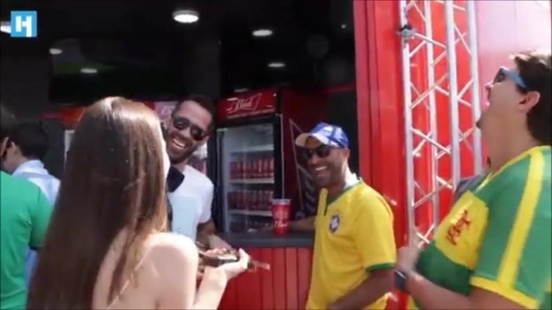 BUCETA ROSA иностранцы о чемпионате мира 2018