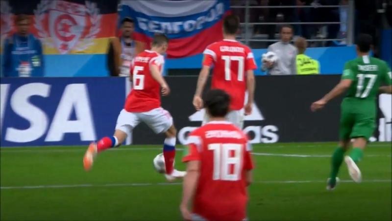 Rusia 5 - Arabia Saudita 0 ¡¡ESTO ES VODKA!!