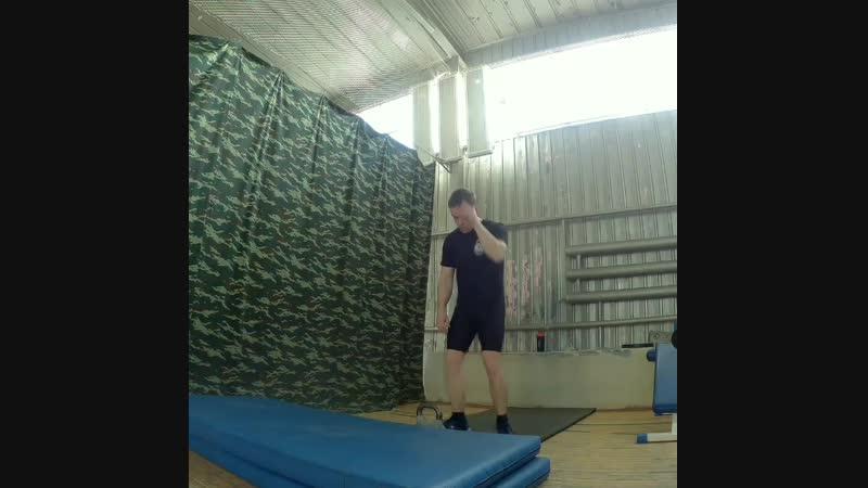 Подготовка к Чемпионату России по силовому жонглированию гирями