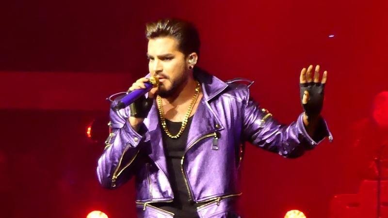 Q ueen Adam Lambert - S omebody To Love - P ark Theater LV 091518