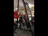 МоиКочки♥️присед 90 кг при собственном весе 48 кг