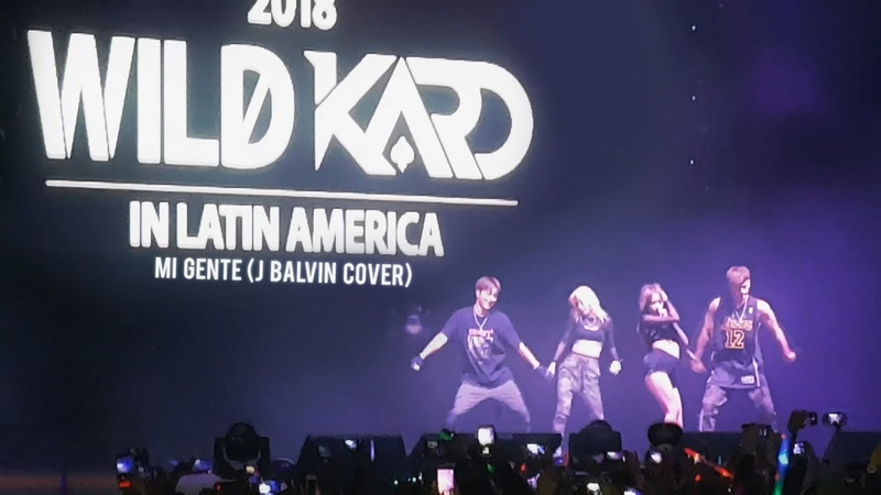 [180911] KARD in Colombia - Mi gente (J Balvin COVER)