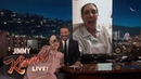 Lena Dunham Pranks Her Mom on Kimmel