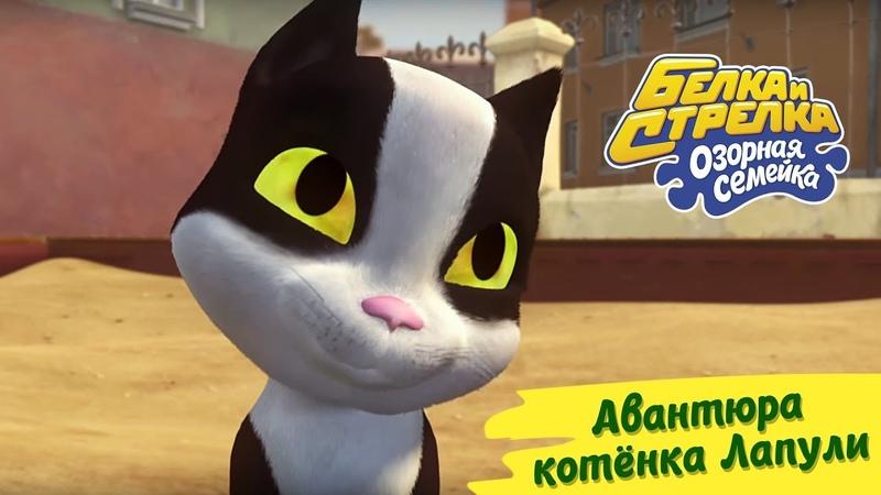 Озорная семейка - Авантюра котенка Лапули | Поучительный мультсериал для детей