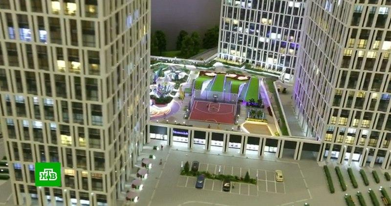 Архитекторы представили проекты кварталов реновации на выставке в Москве