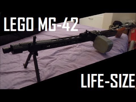 Call Of Duty: World At War: LEGO MG42