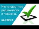 Нестандартные чекбоксы и радиокнопки на CSS3