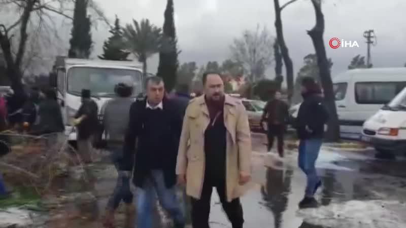 Antalya'yı Hortum Vurdu 11 Yaralı