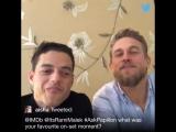 papillon Q&A at IMDB's twitter account [2/8]