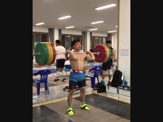 Толчок 170 кг в кат.до 62