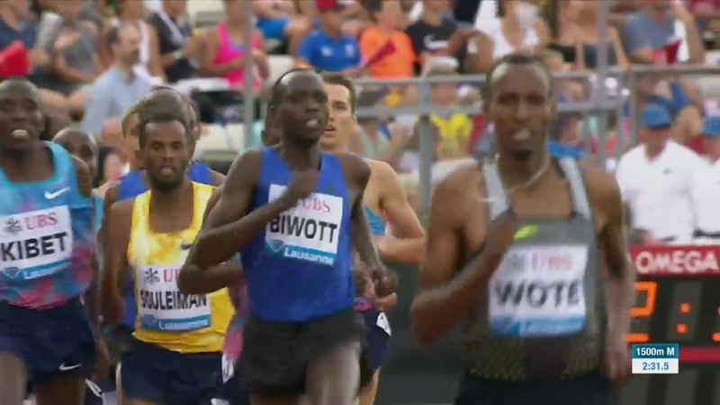 Men 1500m Diamond League Lausanne 2017 English Commentary
