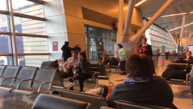 Вылетаем в Стамбул. Аэропорт Внуково, г. Москва