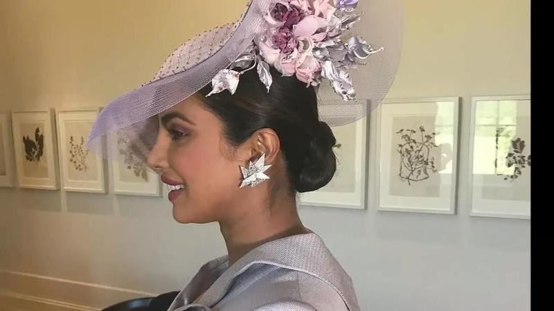 Приянка Чопра на свадьбе принца Гарри и Меган Маркл, 19.05.2018.