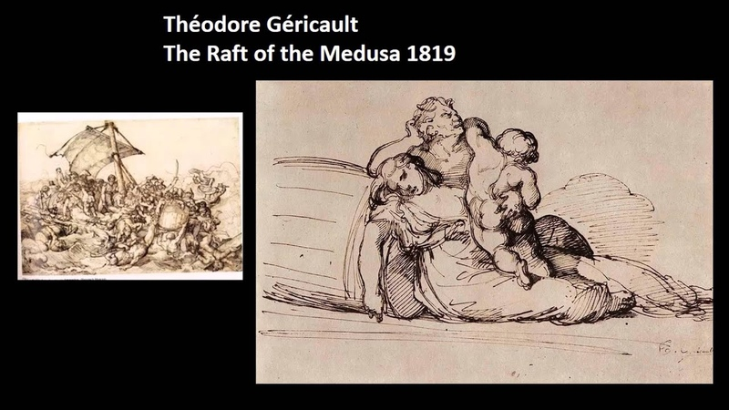 Theodore Gericault (The Roots of Modern Art part 1) by dr. christian conrad