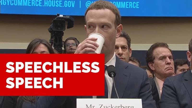 Speechless Speech MARK ZUCKERBERG