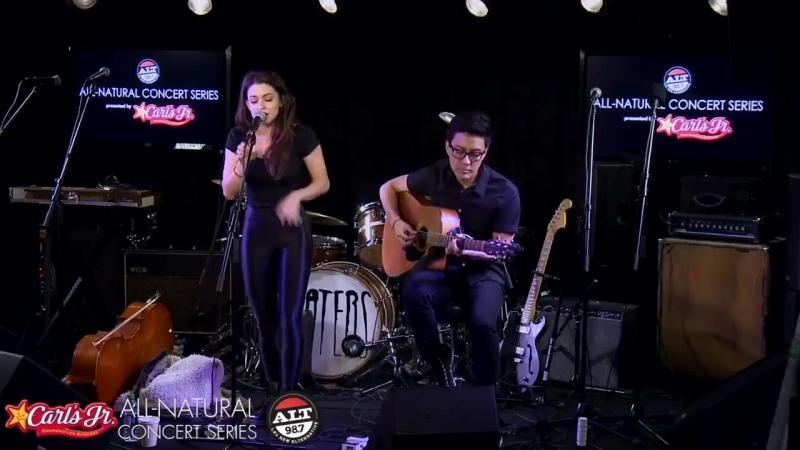 Meg Myers Live Acoustic Performance @ ALT 98.7FM