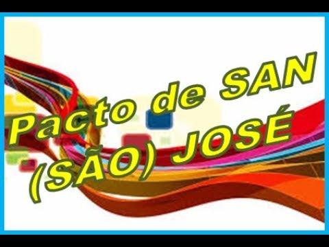 Convenção Americana Pacto de São José Costa Rica Direitos Humanos para Concursos