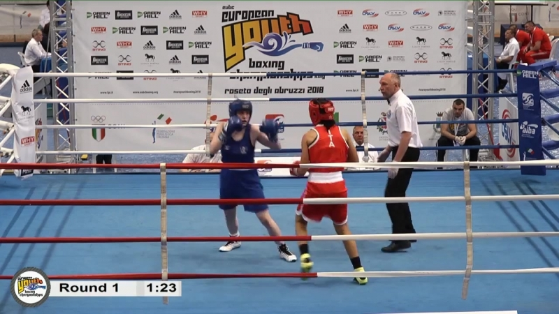 Euro Youth Boxing Championships 2018 Day 5 RING B - SESSION 1