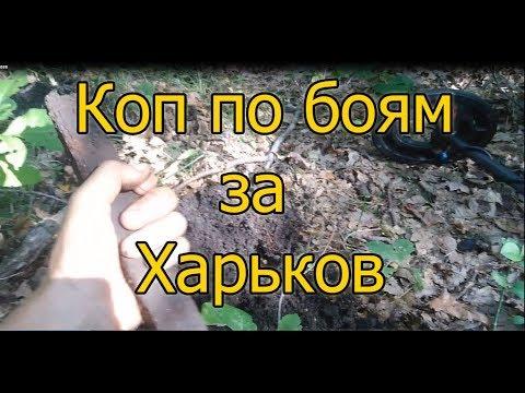 Коп по войне, север Харьковской области.