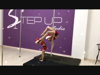 Новогоднее настроение в Step Up