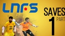 Futsal goalkeepers saves -Liga Nacional de Fútbol Sala/ PART 1 ● HD