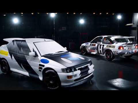 Ken Block's Ford Escort RS Cosworth unveled