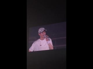 [FANCAM] 180715 Suho - Ending Ment @ The ElyXiOn [dot] in Seoul D3