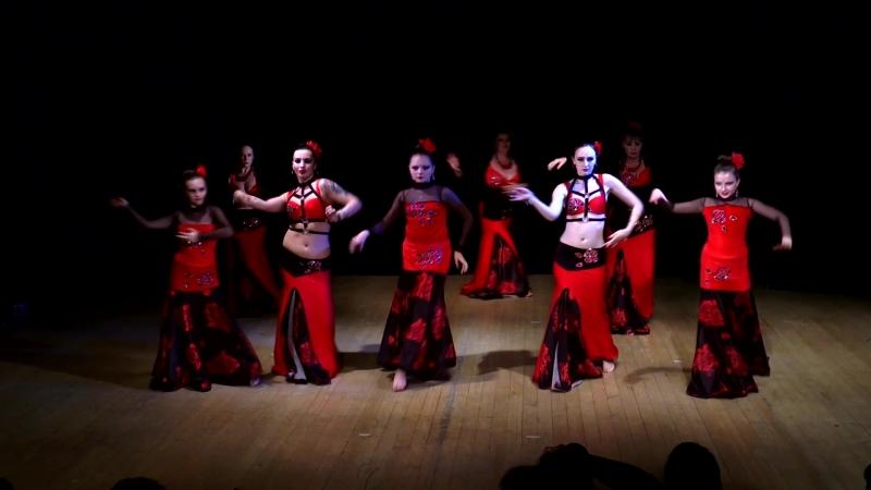 Трайбл-фестиваль Земля-небо Aspani Raks, хореография Аксиньи Железной