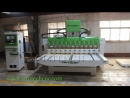 Jordan Yaskawa Servo 4axis wood carving machine High Performance 4axis 3D Multiheads Wood CNC Router Machine sofa legs in Tunis