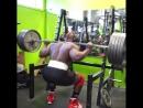 229 кг на 20 повторений